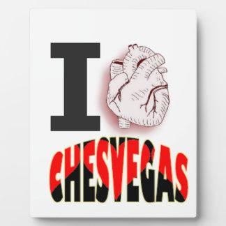 Ches Vegas Plaque