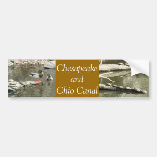 Chesapeake and Ohio Canal Bumper Sticker