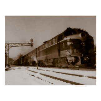 Chesapeake And Ohio Engine 4815 Postcard