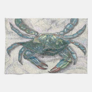 Chesapeake Bay Blue Crab Kitchen Towel