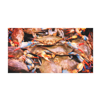 Chesapeake Bay Blue Crabs Canvas Art