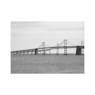 Chesapeake Bay Bridge Canvas Print