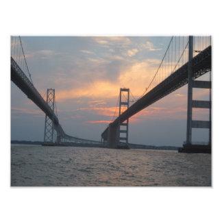 Chesapeake Bay Bridge Photo Poster