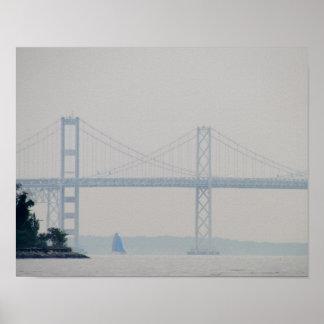 Chesapeake Bay Bridge Poster
