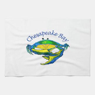 CHESAPEAKE BAY CRAB KITCHEN TOWEL