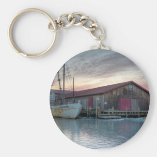 Chesapeake Bay Maritime Museum Basic Round Button Keychain