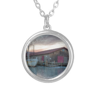 Chesapeake Bay Maritime Museum Silver Plated Necklace