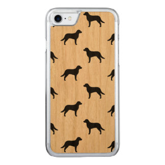 Chesapeake Bay Retriever Silhouettes Pattern Carved iPhone 7 Case