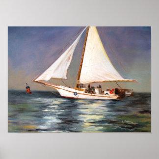 Chesapeake Bay Skipjack Poster