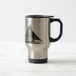 Chesapeake Bay Skipjack Sailboat Travel Mug