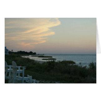 Chesapeake Bay Sunset Card