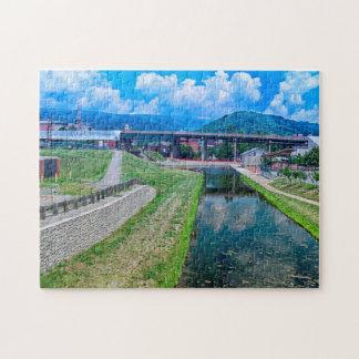 Chesapeake  Ohio Canal Maryland. Jigsaw Puzzle