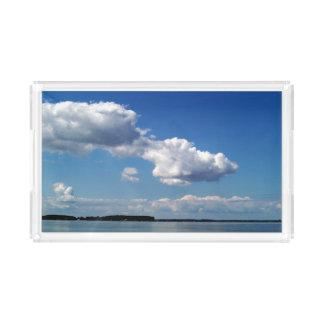 Chesepeake Bay Water & Blue Sky - Bath Tray