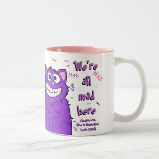 Cheshire Cat, 11 oz mug