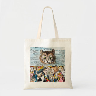 Cheshire Cat, 1865 Budget Tote Bag