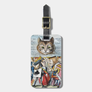 Cheshire Cat, 1865 Luggage Tag