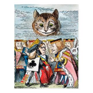 Cheshire Cat, 1865 Postcard
