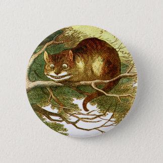 Cheshire Cat 2 Inch Round Button