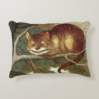 Cheshire Cat Accent Pillow