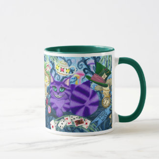 Cheshire Cat Alice In Wonderland Fantasy Art Mug