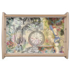 Cheshire Cat Alice in Wonderland Serving Tray