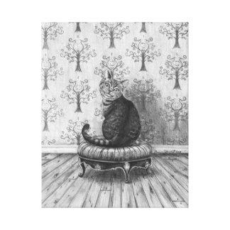 Cheshire Cat Art Canvas Alice in Wonderland Art