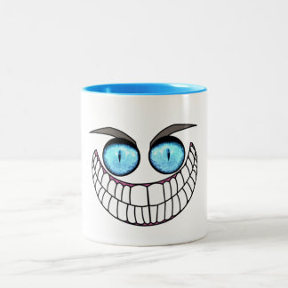 Cheshire Cat - Blue Eyes Coffee Cup
