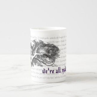 Cheshire Cat Bone China Mug