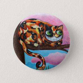 Cheshire Cat Button