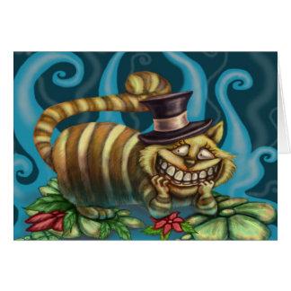 Cheshire Cat Card