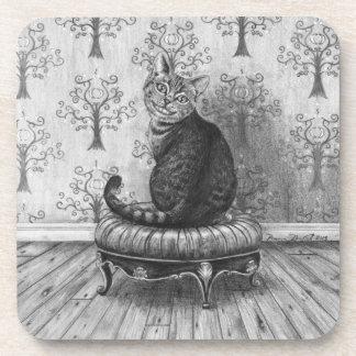 Cheshire Cat Coaster Alice in Wonderland Coaster