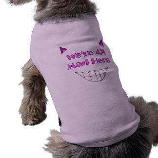 Cheshire Cat Doggie Shirt