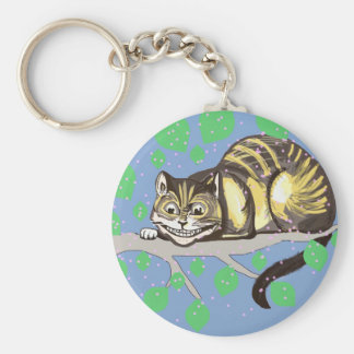 Cheshire Cat Drawing Keychain