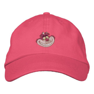 Cheshire Cat Embroidered Hat