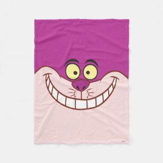 Cheshire Cat Face Fleece Blanket