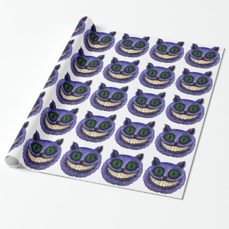 CHESHIRE CAT HEAD (design 1) Wrapping Paper