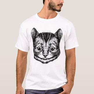 Cheshire Cat Inked Black T-Shirt