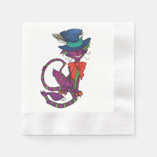 Cheshire Cat Napkins Paper Napkins