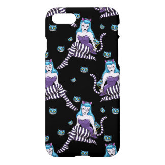 Cheshire Cat pin up girl iPhone case