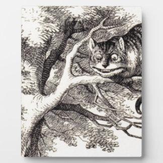 Cheshire cat plaque