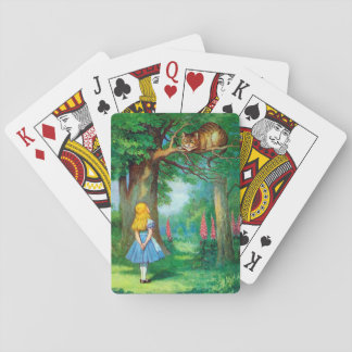 Cheshire Cat Playing Cards