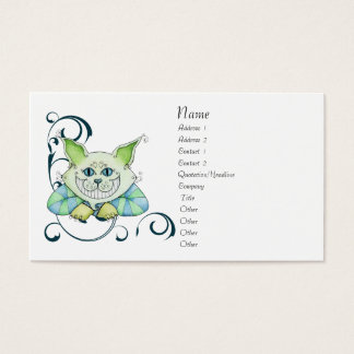 Cheshire Cat Profile Card