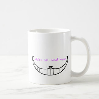 Cheshire Cat Smile Coffee Mug