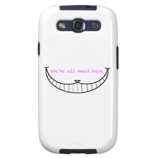 Cheshire Cat Smile Galaxy S3 Cover