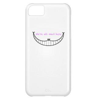 Cheshire Cat Smile iPhone 5C Cases
