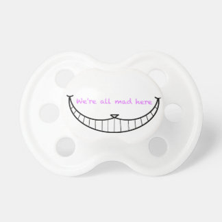 Cheshire Cat Smile Pacifier