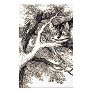 Cheshire cat stationery