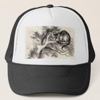 Cheshire cat trucker hat