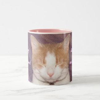 Cheshire Cat. Two-Tone Coffee Mug