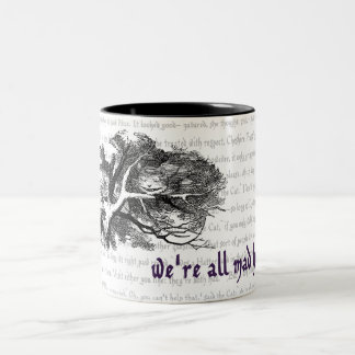 Cheshire Cat Two-Tone Coffee Mug